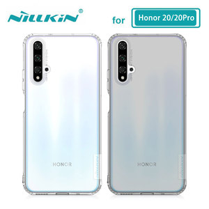 Image 1 - TPU Case for Huawei Honor 20 Pro 20S Nova 5T Casing Nillkin Nature Clear Soft Silicon Soft Cover Huawei Honor 20 Case