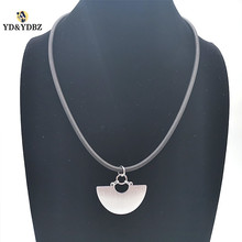 YD&YDBZ Designer New Aluminum Pendant Necklace Gold And Silver Design Stylish Womens Necklaces Jewelry Special