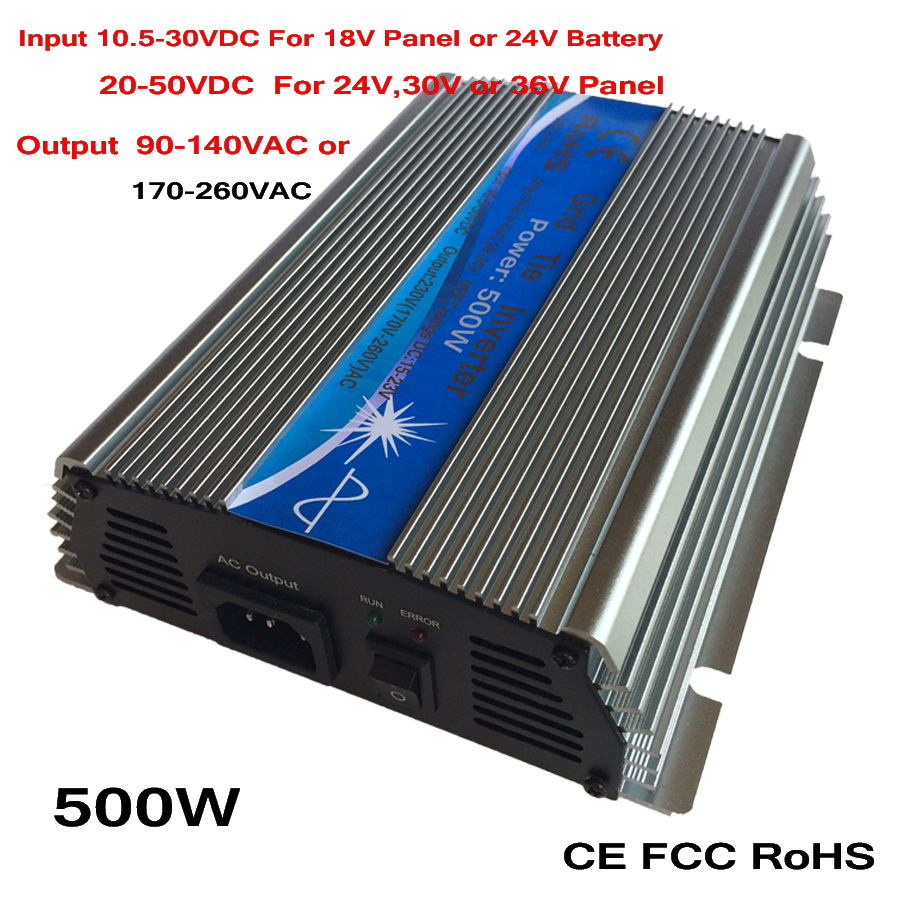 500W MPPT Grid Tie Micro Inverter 10.5-30VDC 20-50VDC to AC90-140V or 170-260V On Grid Inverter 500W Pure Sine Wave Output evans v enterprise plus video activity book pre intermediate рабочая тетрадь к видеокурсу