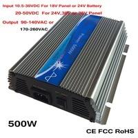 Precio Inversor Micro de rejilla MPPT 500W 10 5 30VDC 20 50VDC a AC90 140V o 170