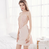 Cotton Long Nightgown Family Clothing Cotton Night Gown Night Sleep Dress Womens Sleepwear Cotton