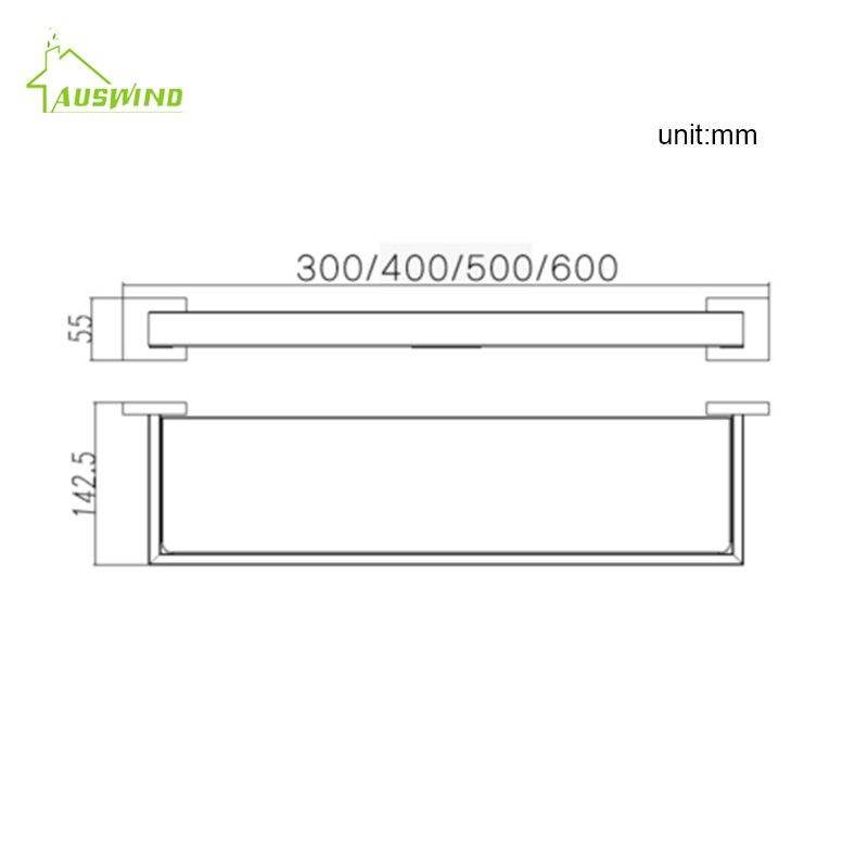 Accessori Per Mensole In Vetro.Reze Por Titine Offerte Auswind Moderna Argento Spazzolato Bagno