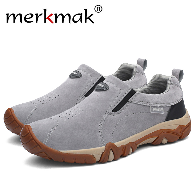 Shoes Men's Casual Shoes Merkmak 2018 Autumn And Winter Shoes Men Casual Shoes Loafers Men Artificial Leather Hot Sale Keep Feet Warm Men High Quality Strengthening Waist And Sinews