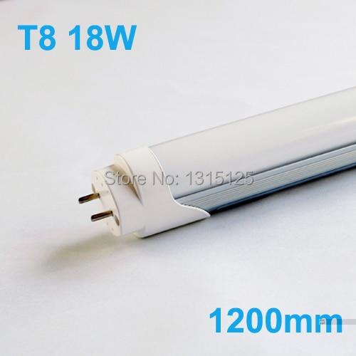 Led Tube Lights 1200mm T8 18W Tubes SMD 2835 Super Brightness Led Bulbs Fluorescent Tubes AC85-265V integrated led tube light t8 1200mm 4ft 18w led fluorescent lamp epistar smd 2835 30pcs lot
