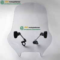 WINDSHIELD WINDSCREEN CB1300 XJR1200 YBR250 CB400 GN250 Motorcycle windshield modified windshield modified front windshield
