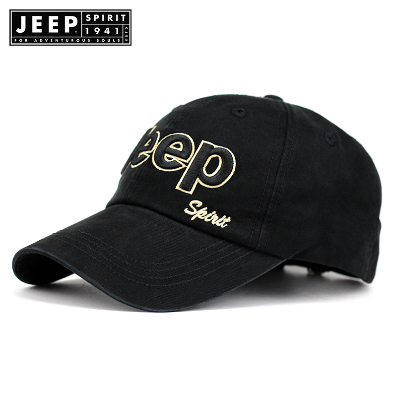 JEEP SPIRIT   Baseball     Cap   Men Summer Casual Unisex   Caps   Embroidery Letter Adjustable Cotton Dad Hat Outdoor Gorras Para Hombre