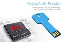 free shipping mini metal usb bellek flash memory pen drive 8gb 16gb 32gb 64gb usb key
