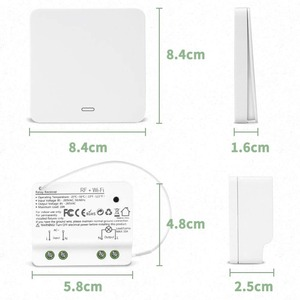 Image 2 - Wifi חכם מתג 2500W אלחוטי ממסר RF433 הקינטית מתג עצמי מופעל קול שליטה לעבוד עם Alexa Google IFTTT חכם חיים