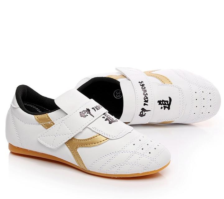 Chaussures Taekwondo chaussures taekwondo pour enfants adultes hommes et femmes chaussures LULI2 Tai Chi chaussures d'arts martiaux d'entraînement - 4