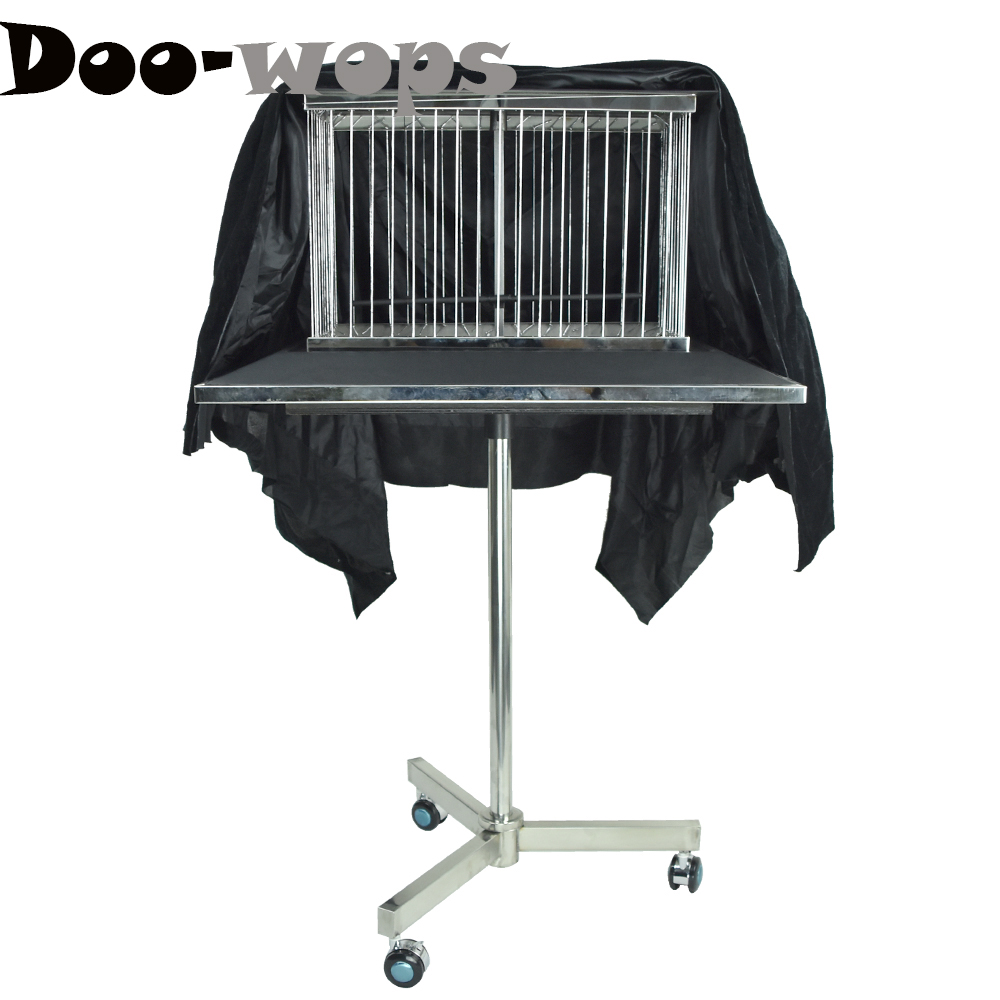 Vanishing Dove Cage Bird Cage Disappearing Table Magic Tricks Professional Magician Stage Gimmick Illusions Props Comedy