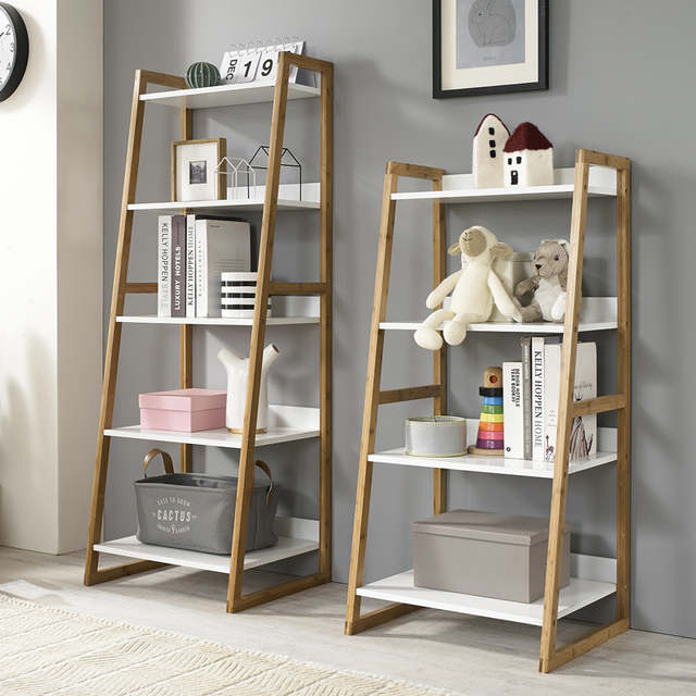 Us 64 9 Louis Fashion Bookcases Solid Wood Shelf Living Room Landing Bedroom Small Bookshelf European Style Simple And Multi Layer In From
