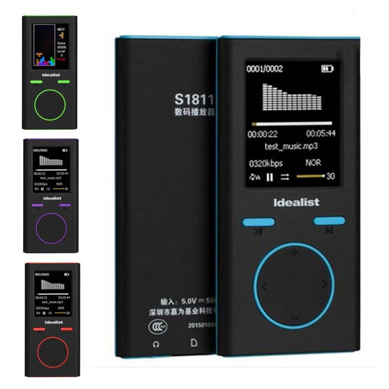 New MP3 MP4 Player Mini Game MP4 4G 8G Outdoor Sport MP3 Radio Music Mp4 Slim Game Player Recorder E-Book Walkman цены