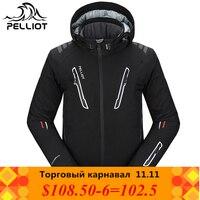 2018 Pelliot Лыжная куртка мужская водостойкая, дышащая термальная Сноубордическая куртка Бесплатная доставка! Гарантия подлинности!