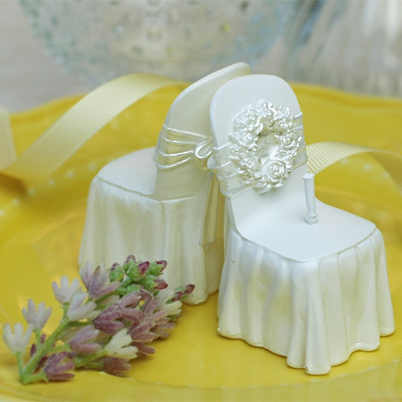 Romantic Wedding Gifts: Wedding Supplies Romantic Wedding Scented Candles Chair