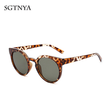 Transparent big box sunglasses designer brand fashion womens glasses