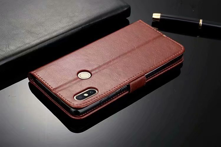 Luxury Wallet PU Leather Phone Cases for Xiaomi Mi8 Mi8 SE Cover Phone Holder Card Slot Flip Case for Xiaomi Mi 8 SE Coque T10 in Flip Cases from Cellphones Telecommunications
