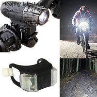 USB Rechargeable 360 Degree Rotation Bike Bicycle Front Lamp Headlight Rear Light Set Bike Accessories Top