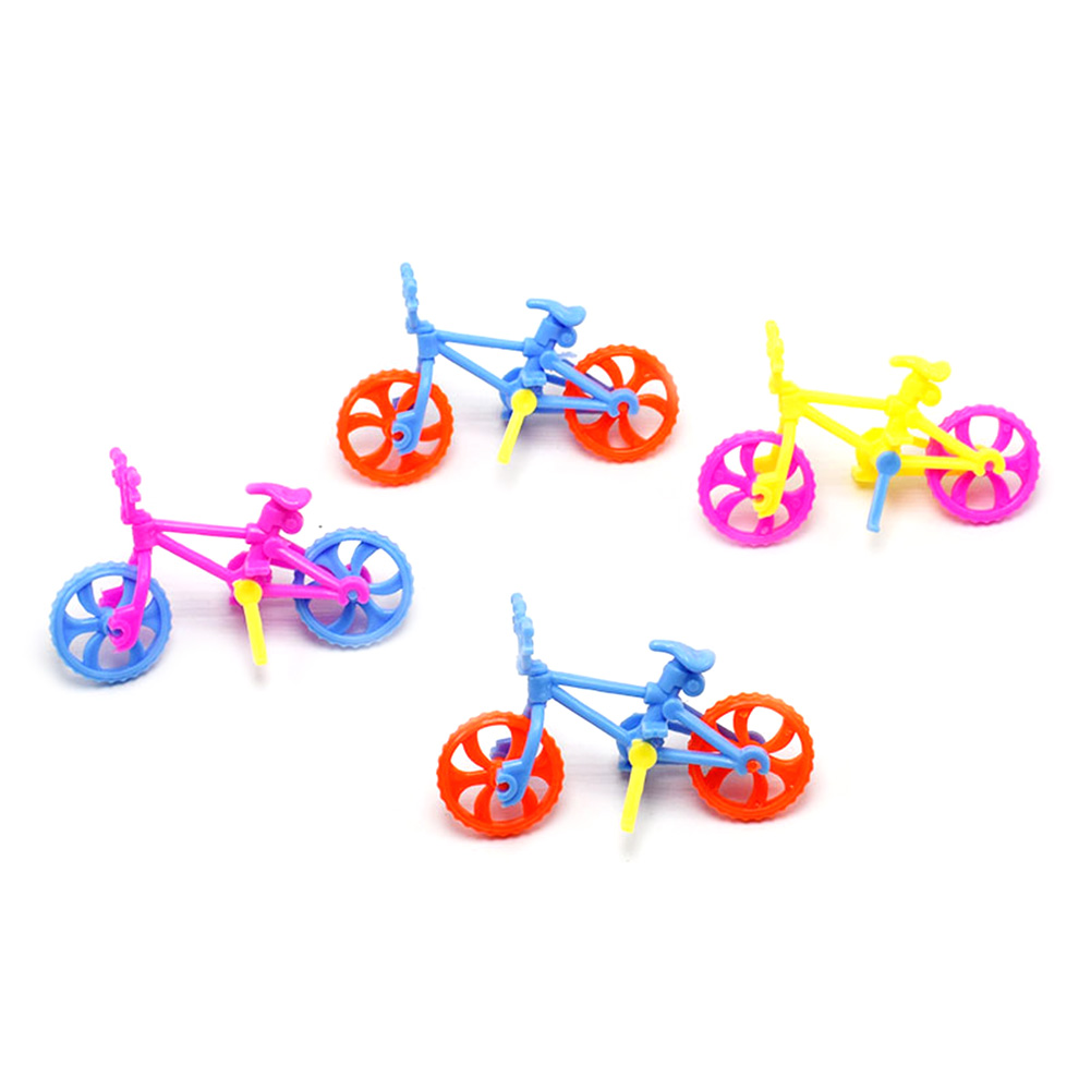 Educational plastic toy simulation removable bicycle DIY assembly bike increase hand on ability children toy gift