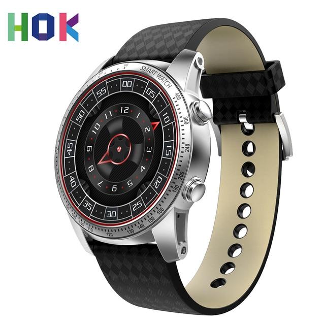 Hok hk99 Android 5.1 3 г Смарт часы с 3 г GPS Wi-Fi Bluetooth sim-карты сердечного ритма Мониторы наручные smartWatch для Для мужчин Для женщин