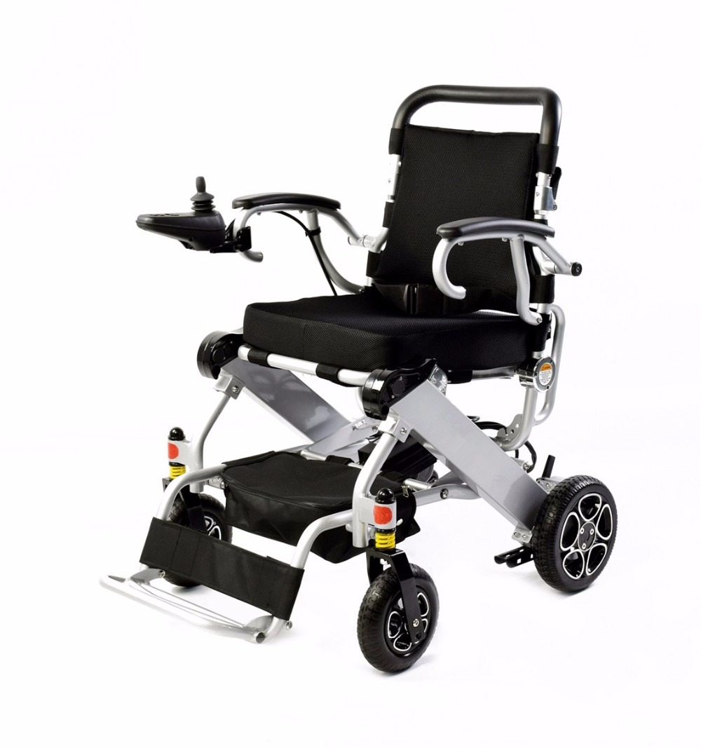 Fashion foldable high quality power electric wheelchair for travel power fashion