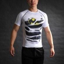 Гражданской капитан marvel тройник америка мстители войны печатные бэтмен футболка коротким