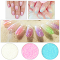 24 Colors Symphony Glitter Nail Art  Powder Acrylic Powder Decoration Nail Ornament  Flash Dust  Nail Glitter 1 pcs