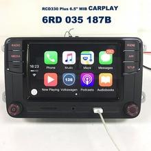"CarPlay APP RCD330 Plus 6.5 ""MIB 187B Rádio Do Carro Para VW Golf 5 6 Jetta MK5 MK6 Tiguan Passat CC Polo 6RD 035 187B"