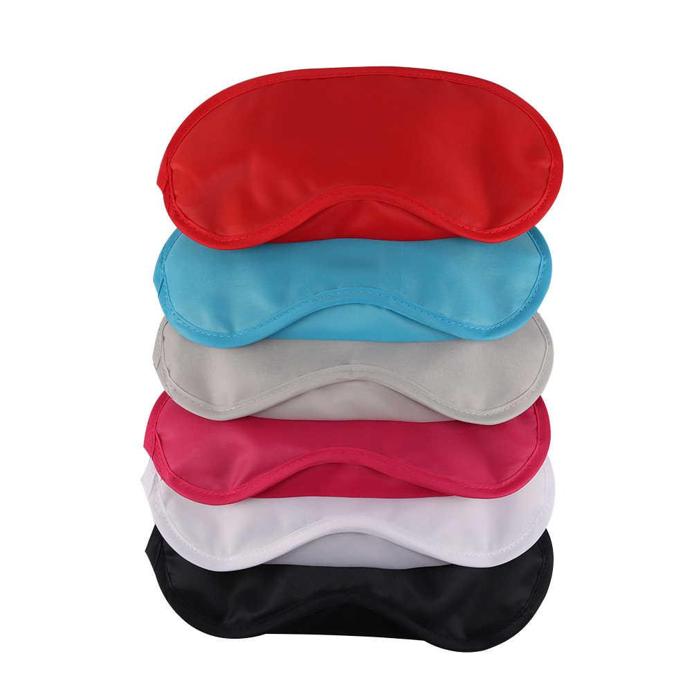 1 Pza 9 colores para dormir ayuda para dormir máscara para ojos funda para sombra de ojos comodidad salud Blindfold Shield viaje belleza del cuidado de los ojos herramienta