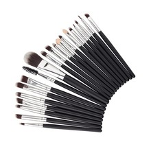 20 Pcs Professional Make Up Brushes Set De maquiagem Makeup Brush Set Tools Cosmetics Toiletry Kit Tools Accessories PL2 Y4
