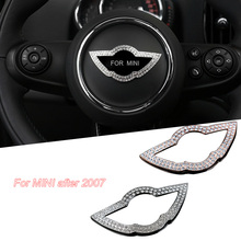 Car sticker steering wheel cover 3D car stickers trd for BMW mini MINI cooper clubman countryman