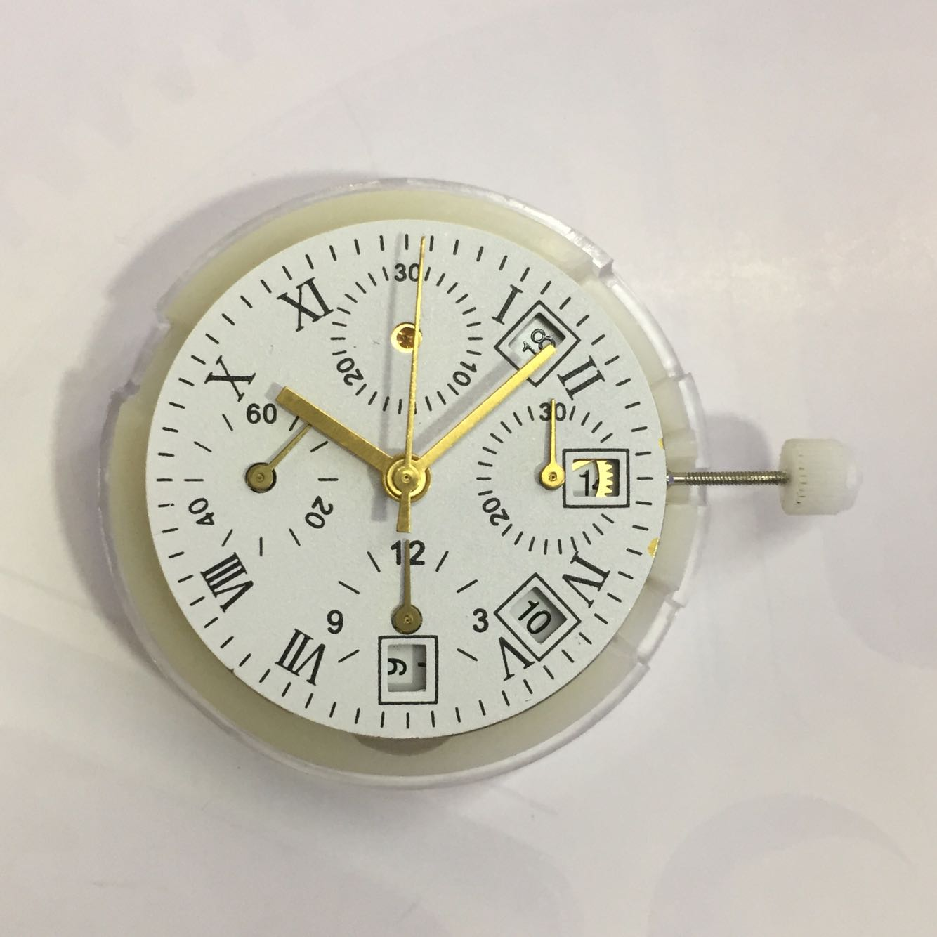 7750 Movement China Shangha 7750 Chronograph 3.6.9 Single Calendar