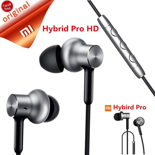Оригинал Сяо Mi Гибридный Pro HD наушники круг гладить проводной Сяо Mi earset Шум отмена Сяо Mi наушники-вкладыши Pro HD