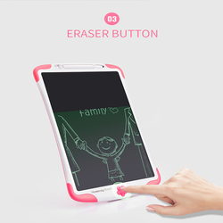 12 Cal pisma ręcznego tablicy do pisania dla dzieci cyfrowy elektroniczny LCD Doodling kolor Graffiti dzieci w rysunek zabawki narysuj domu