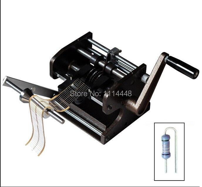 Руководство F типа светодиодный резистор осевой вывод изгиб резак форму и автомат светодиодный бывший