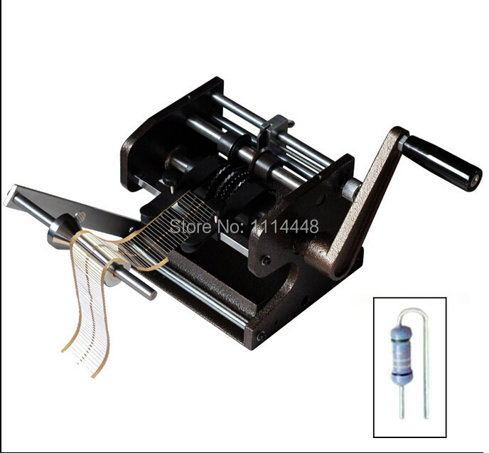 Manual F type LED Resistor Axial Lead Bend Cutter Form Making Machine LED Former u f type axial lead resistor bending cutting