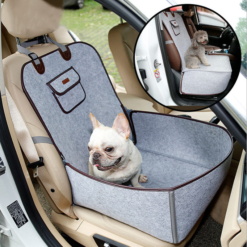 Pet Dog Cat Safety Seat Cover Car Front Mat Carrier for Dogs TT-best