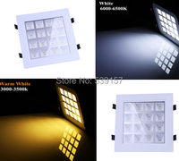 Free Shipping 16W LED Panel Light Square Ceiling Light For Home Light 85 265V Led Recessed