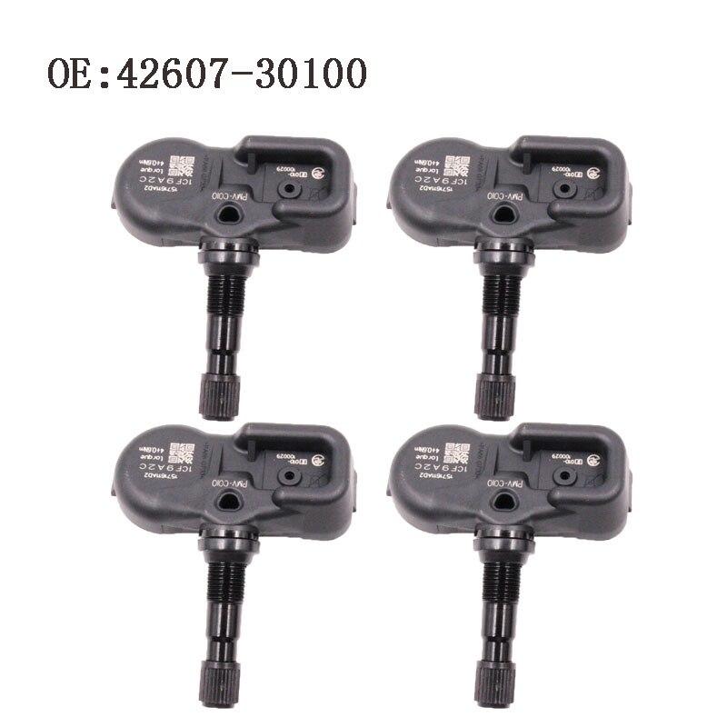 4 PCS New Tire Pressure Sensor For Lexus ES200 ES250 GS250 GS450h IS250 4260730100 42607 30100