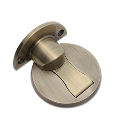 Magnes ogranicznik do drzwi zatrzymuje uchwyt ze stali nierdzewnej chroń ochraniacz do szklanych drzwi meble DTT88 w Stopery do drzwi od Majsterkowanie na
