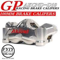 AKCND мотоцикл тормоз насос модификации излучения на четыре поршня тормозных суппортов под pimp gp4 rx Штангенциркули 100 точками блокировки