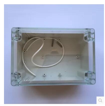 160*110*90mm NEW Plastic PC Transparent Cover Outdoor Waterproof Electronic Instrument Junction Case Enclosure Box 1 piece free shipping plastic enclosure for wall mount amplifier case waterproof plastic junction box 110 65 28mm