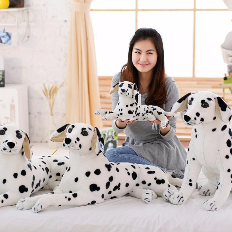 new stuffed plush toy wolf dog dalmatian dalmatian stuffed dog pillow baby simulation soft toy dog jewelry gifts 25cm soft toy poodle pillow cartoon cute poodle dog plush toy fabric stitch stuffed plush dog animal toys for children gifts