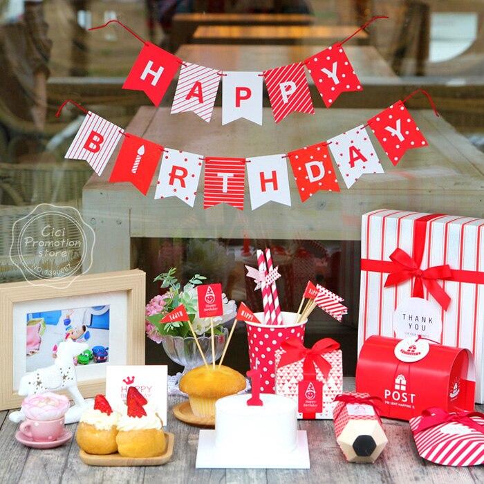 Aliexpress.com : Buy Kids Happy Birthday Party Decoration