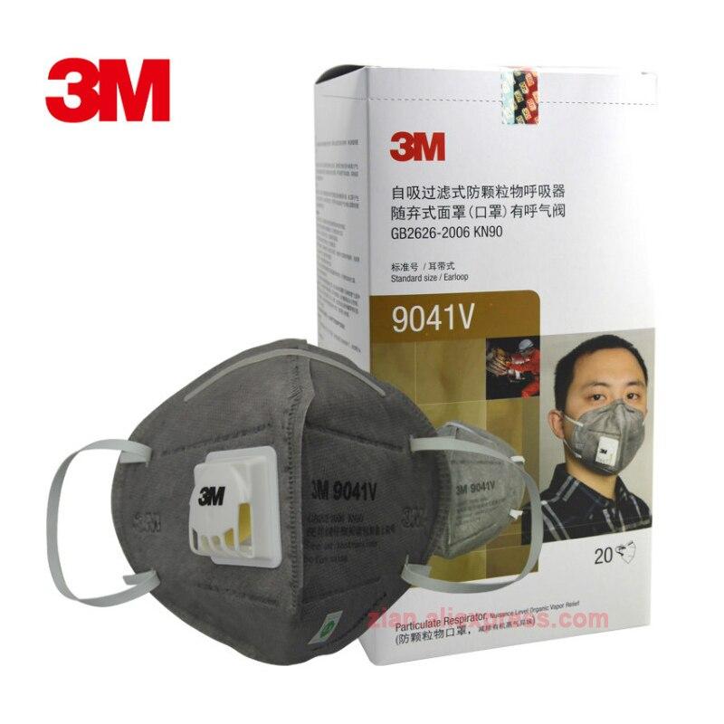 3 м 9041 в пыль из активированного угля Респиратор маска Анти-формальдегид беременная женщина вторичный дым декоративный запах анти туман