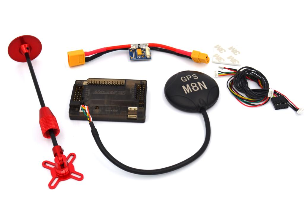 Drone With Camera Quadcopter Apm 2.6 +neo-m8n Flight Controller Gps Module With Shell For Apm 2.6 With Ubec For Rc Plane