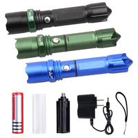 Tactical Flashlight Outdoor Held Zoomable Flashlight With 3 Light Modes Ultra Bright Adjustable Focus Sale M25