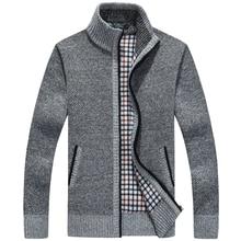 Neue winter plus größe herren pullover männer dicke langarm wolle strickjacke männer pullover jacke beiläufige gestrickte pullover kleidung