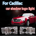 LED Car door Courtesy laser projector  Ghost Shadow welcome light For Buick Cadillac SRX ATS-L XTS