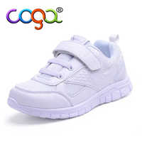 Kid Sneakers Students Sports Shoes White Color Boys Girls Running Shoes New Sping Children Shoes B2749