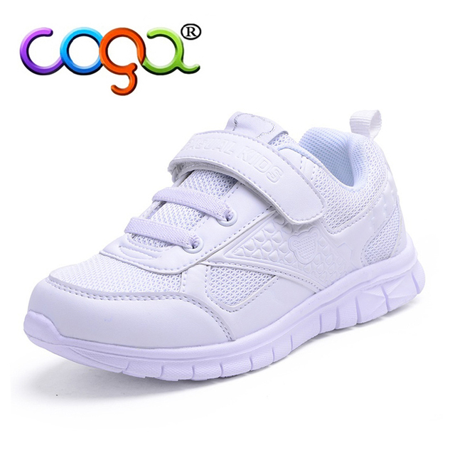fa72e58b8a0cc Kid Sneakers Students Sports Shoes White Color Boys Girls Running Shoes New  Sping Children Shoes B2749